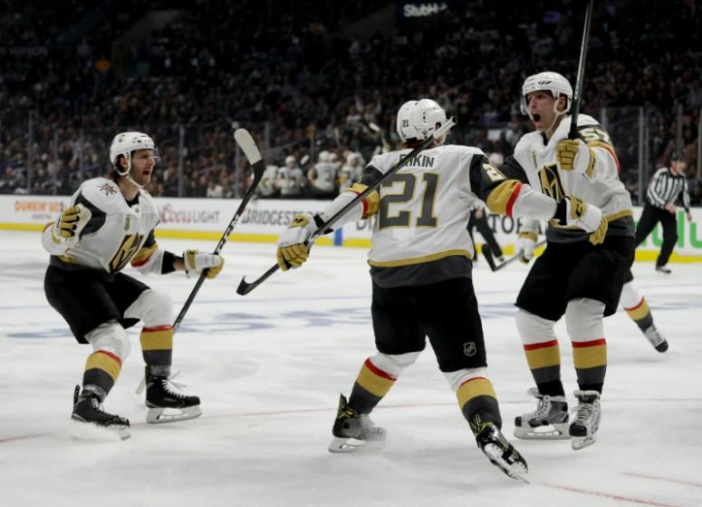 Golden Knights Kings Hockey