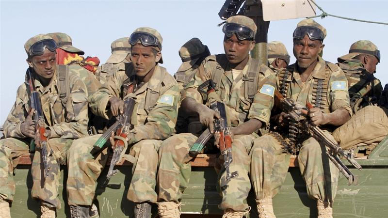 Somali soldiers