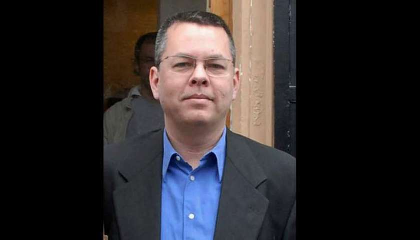 © The Associated Press FILE - In this undated file photo, Andrew Brunson, an American pastor, stands in Izmir, Turkey. The trial of an American pastor imprisoned in Turkey, whose case is part of the quagmire